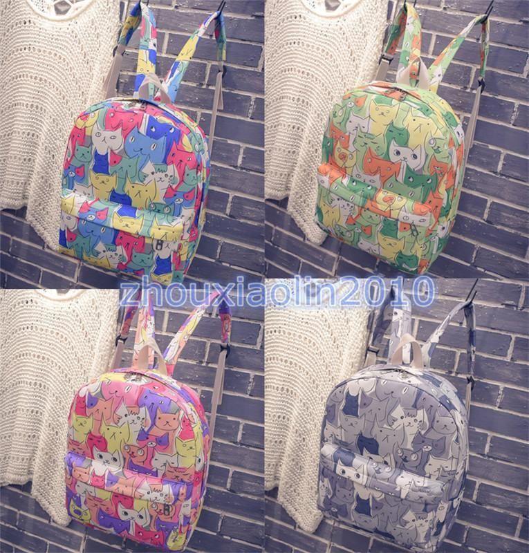 Japanese Game Neko Atsume ねこあつめCute Cat Book Bag Shoulder Bag Backpack Xmas  Gift 04dbd7dad8090