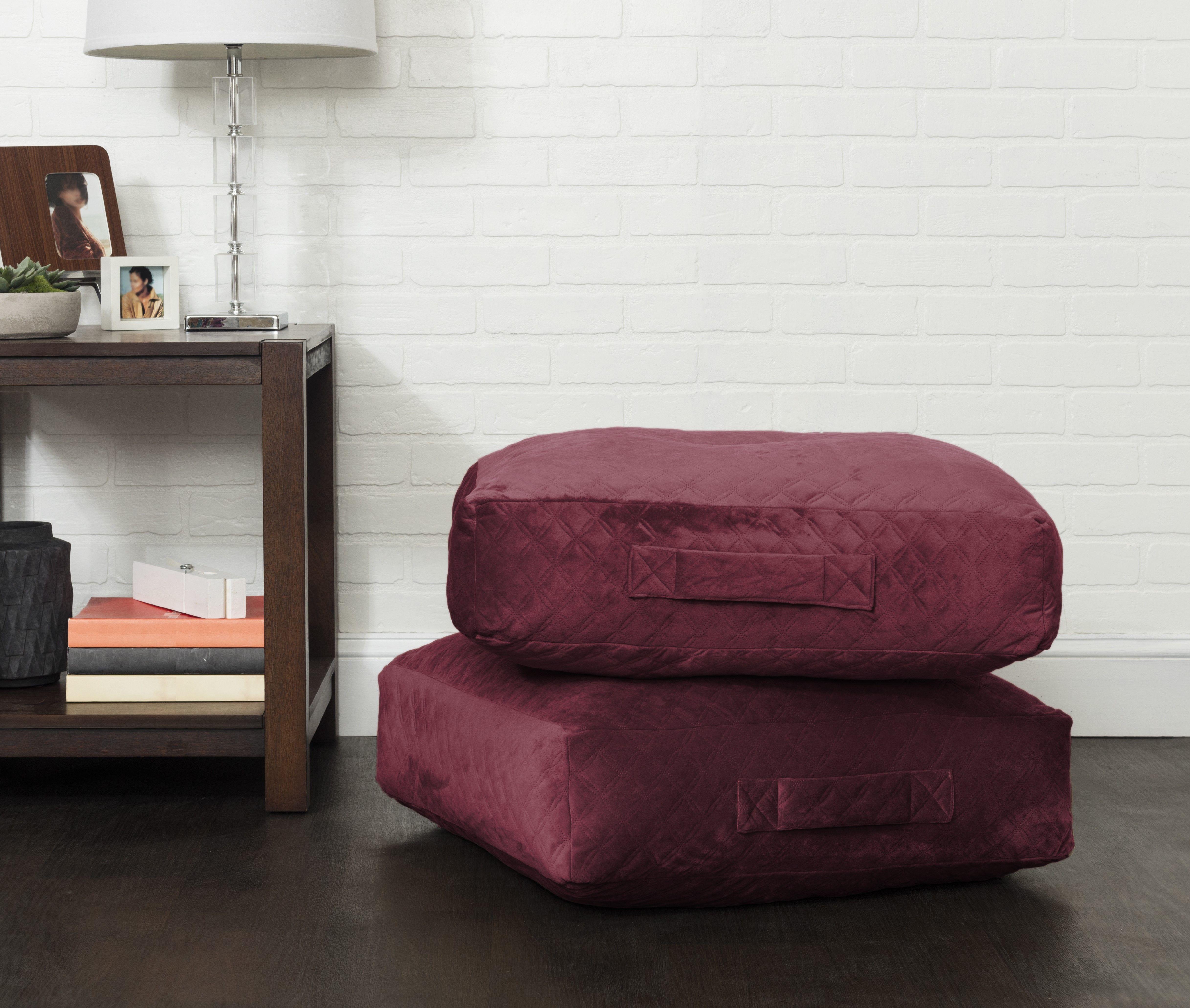 facd8a72125d94d64e4a70f02880f162 - Better Homes & Gardens Everly Velvet Box Floor Cushion