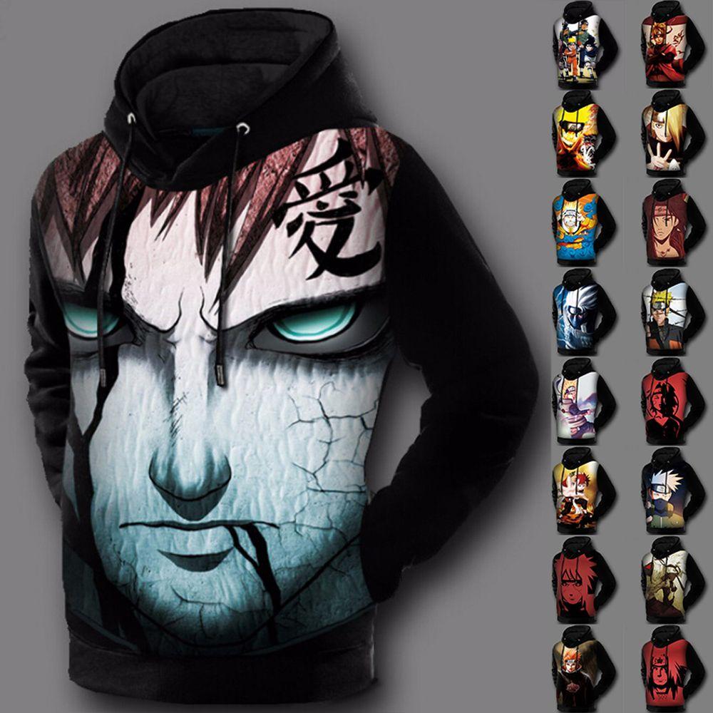 Japan Anime Naruto0 Naruto0 Uzumaki 3D Printed Hoodie Costume Sweatshirt Jacket