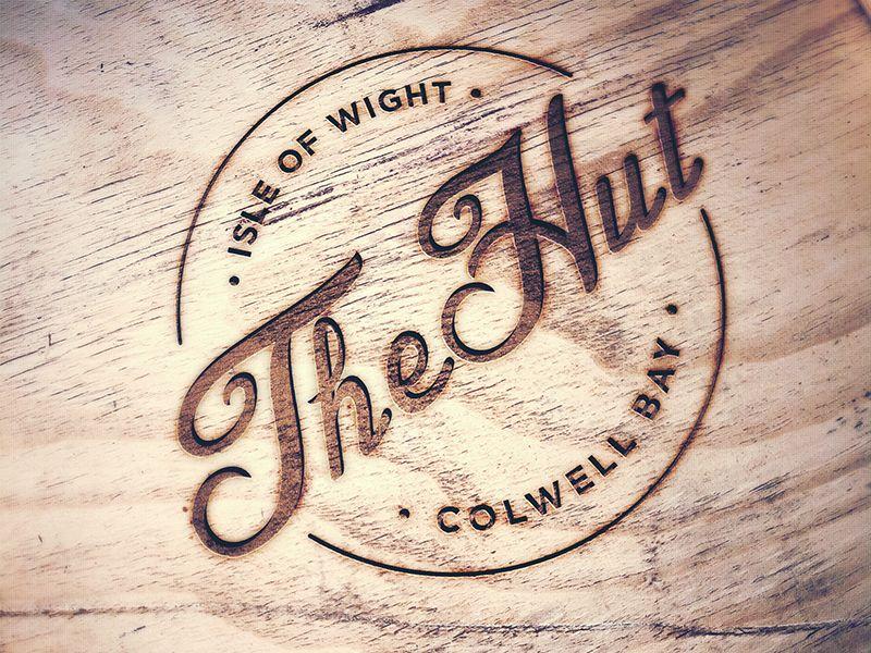 The Hut Logo Design Wood Branding Wood Logo Design Wood Branding Iron