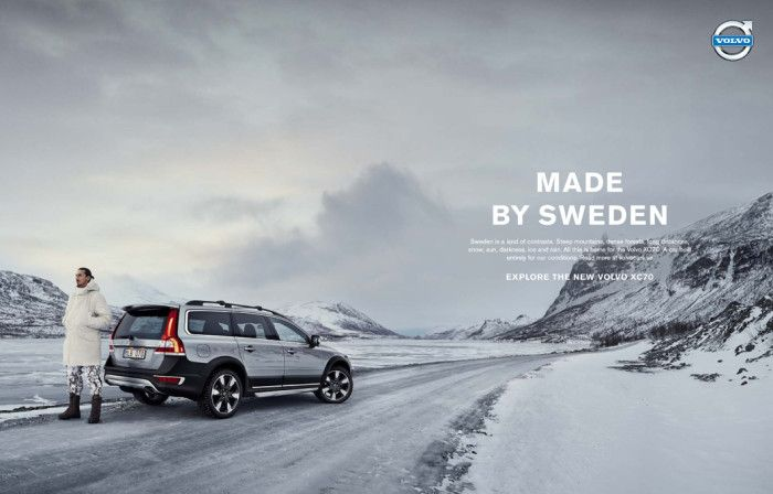 Forsman & Bodenfors — Volvo Cars Made by Sweden feat. Zlatan #4 | mens jewerly | Volvo, Volvo ...