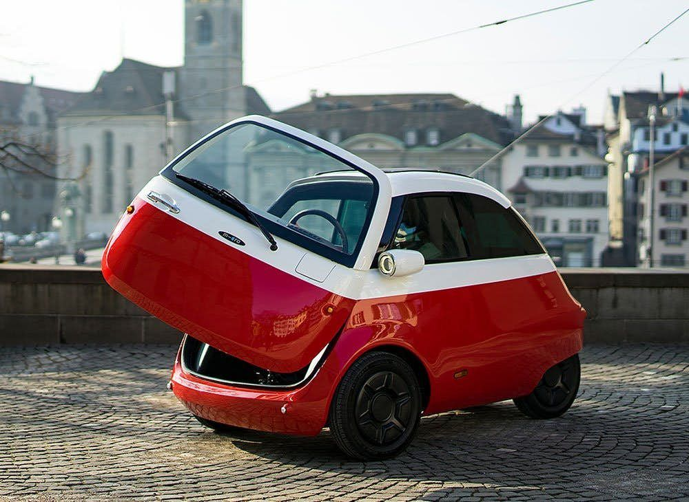 This Adorable Little Electric Car Is Ready To Roll At Speeds Up To