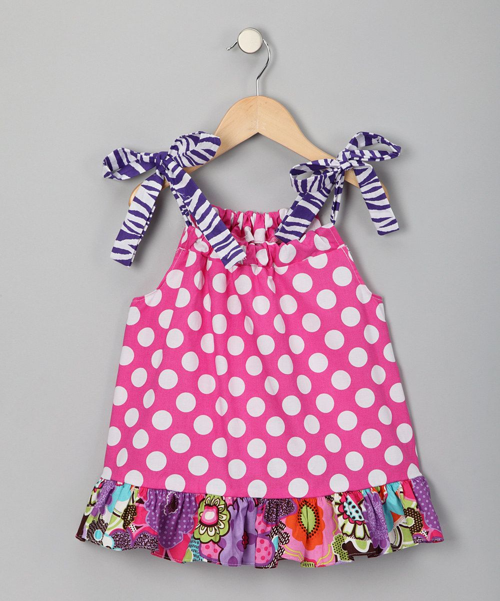 Pink Polka Dot Tunic - Infant, Toddler & Girls