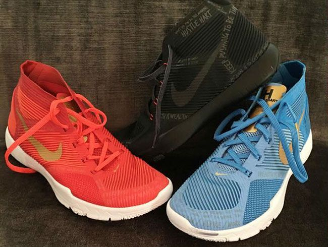 05eaefa5ee56 Kevin Hart Nike Trainer Hustle Harts. Kevin Hart has his own signature shoe  with Nike