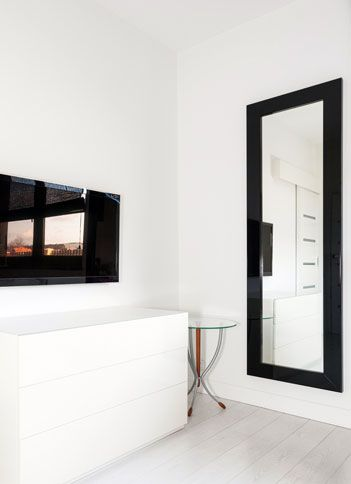 Black Framed Mirror Large Mirror Floor Mirror Custom Sized Black Mirror Frame Large Bedroom Mirror Mirror Frames