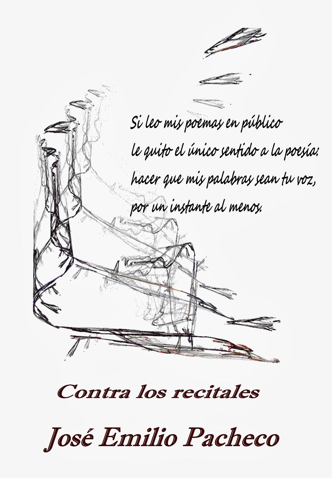 Depapel Poemas Poemas Jose Emilio Pacheco Recital