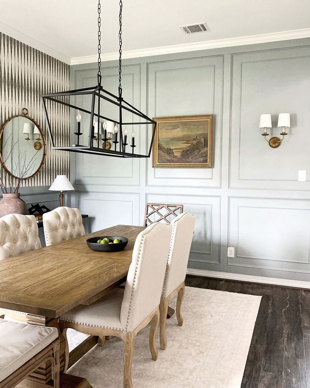 Easy And Affordable Dining Room Design Ideas Clare Dining Room Paint Colors Grey Dining Room Paint Gray Dining Room Paint Colors