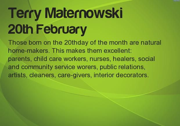 What your Birthday says about your career? Find at http