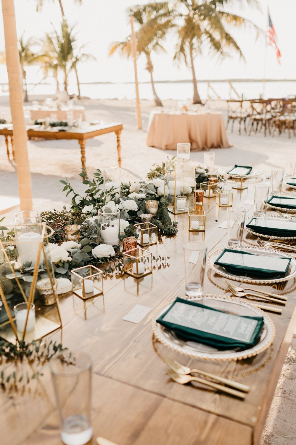Tropical Glam Destination Wedding in the Florida Keys