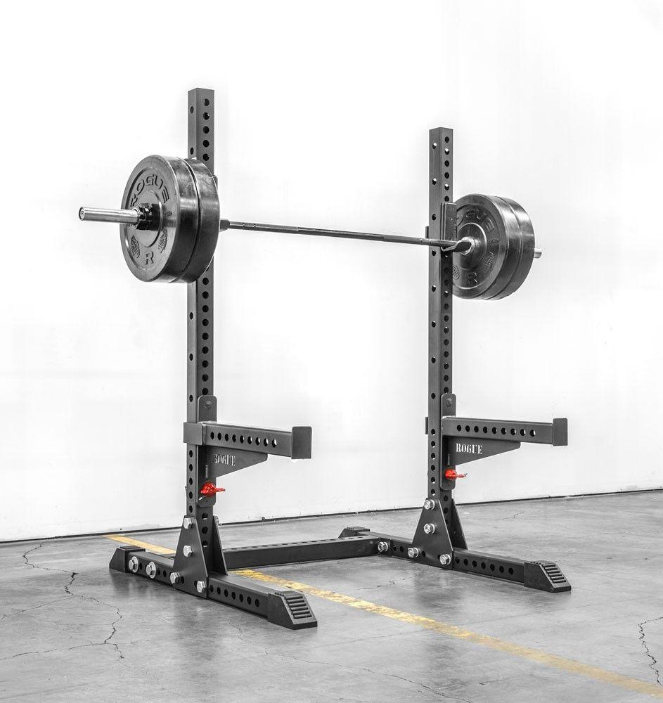 Pin on squat rack steel