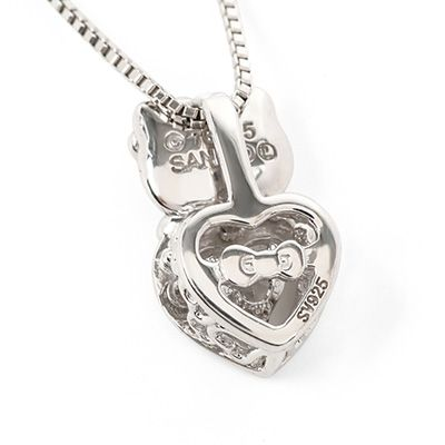 4ec143885 Hello Kitty Dancing Stone Heart Pendant | My Hello Kitty | Hello ...