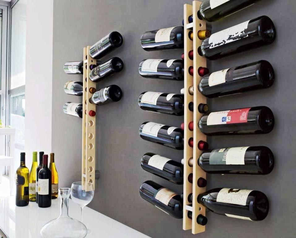 Contemporary Modern Wine Rack Armazenamento De Vinho Adega De Parede Suporte Para Vinho