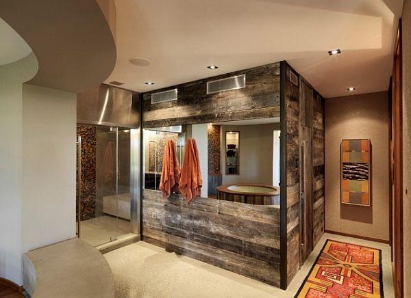 Schöne Wandgestaltung Ideen – Wand Bekleidung aus Holz selber ...