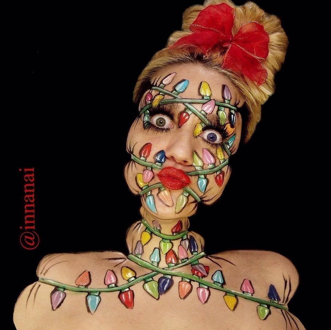 Mua innanai . Amazing Featured Accounts Body painting