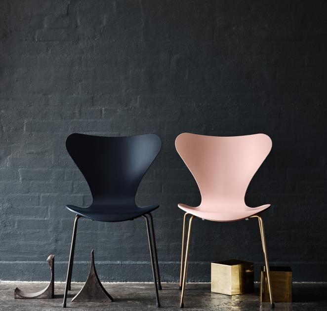 chair Furniture Pinterest Fritz hansen, Shapes and Interiors - interior trend modern gestein