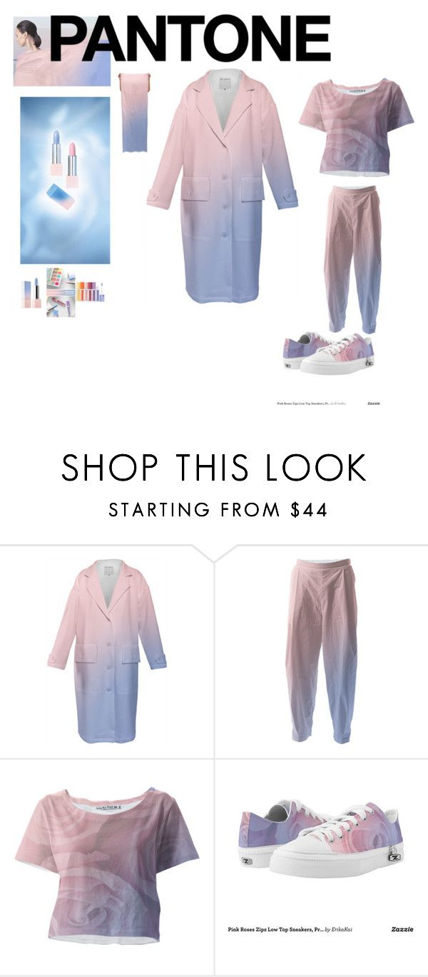 """Pantone Beauty: Rose Quartz and Serenity"" by erikakaisersot ❤ liked on Polyvore featuring Sephora Collection and pantonebeauty"
