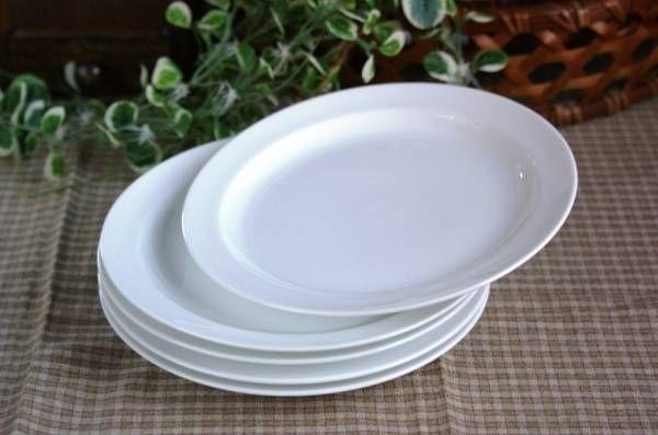 北欧テイストDANSKのようなホワイトパン皿デザート皿5枚 Scandinavian dansk ¥1200円 〆03月31日