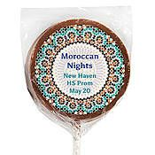Moroccan Nights Milk Chocolate Lollipops