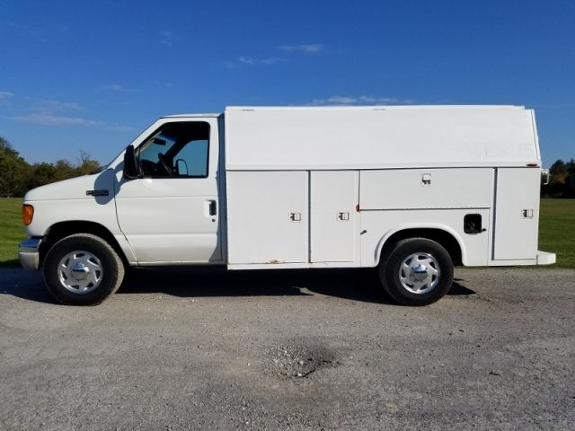 2004 Ford E-350 Super Duty Cutaway Utility Van *SOLD