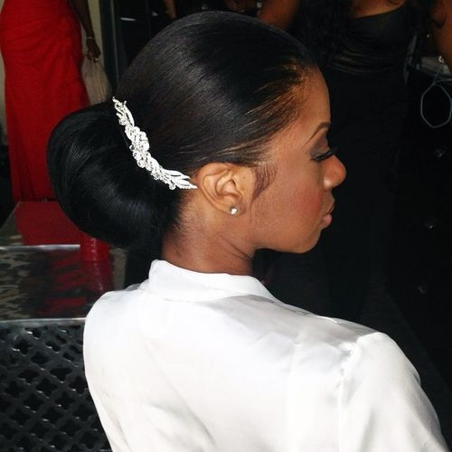 Pin On Relaxed Hair