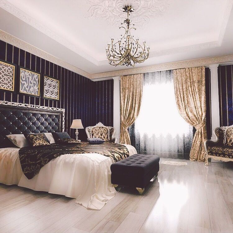 Elegant Black And White Bedroom Designs Boys Bedroom Lighting Ideas Bedroom Colors For Couples Bedroom Arrangement Ideas Pictures: Apartment!!! In 2019…