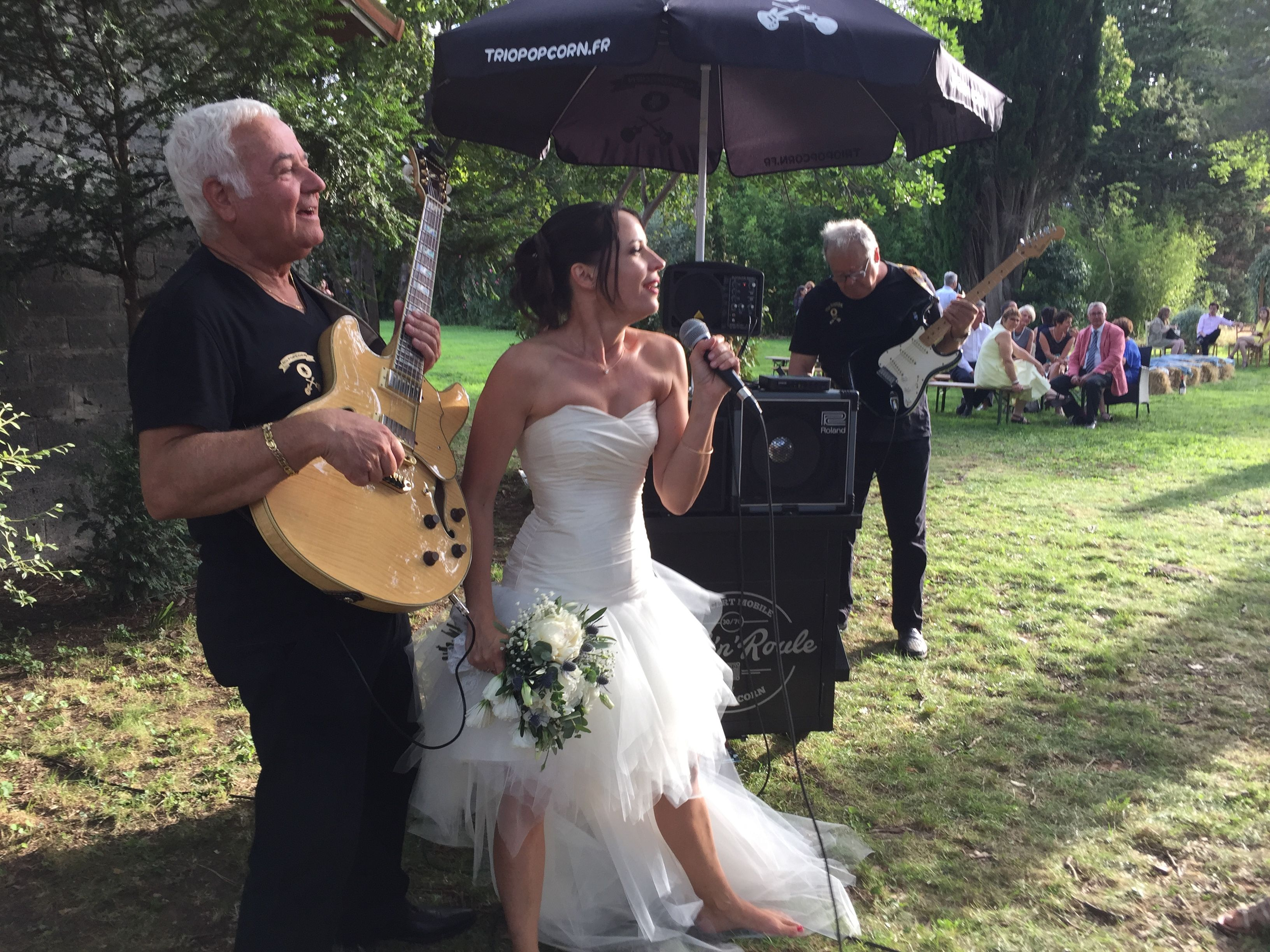 animation mariage rock