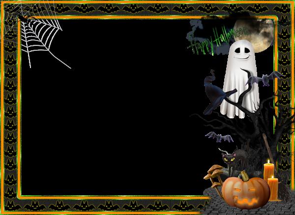 Marco de fotos grande transparente de Halloween | Marco | Pinterest ...