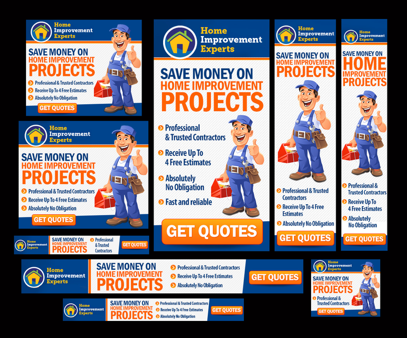 Fun And Creative Home Improvement Ad By Bannerxpert Banner Ads Design Banner Ads Home Quotes And Sayings