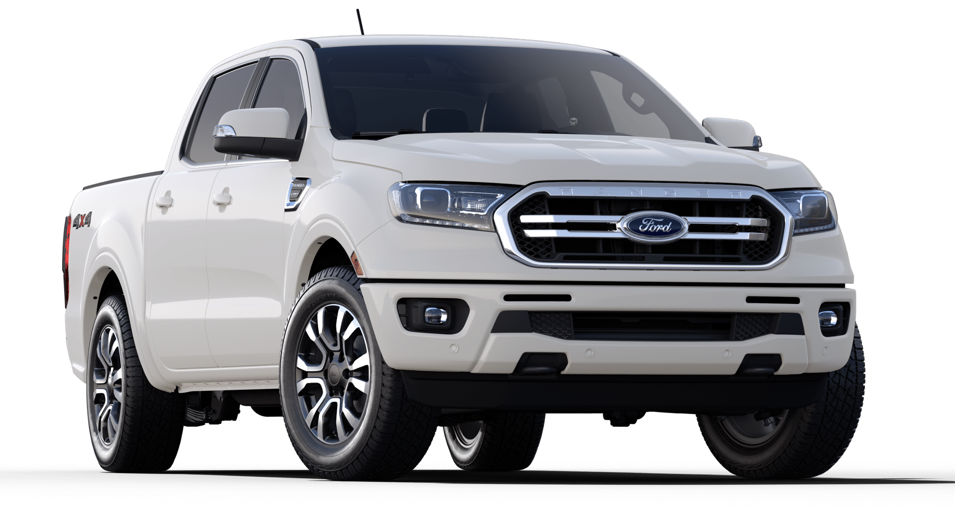 2019 Ford Ranger Lariat Supercrew Oxford White 2019 Ford Ranger Ford Ranger Ford Trucks F150