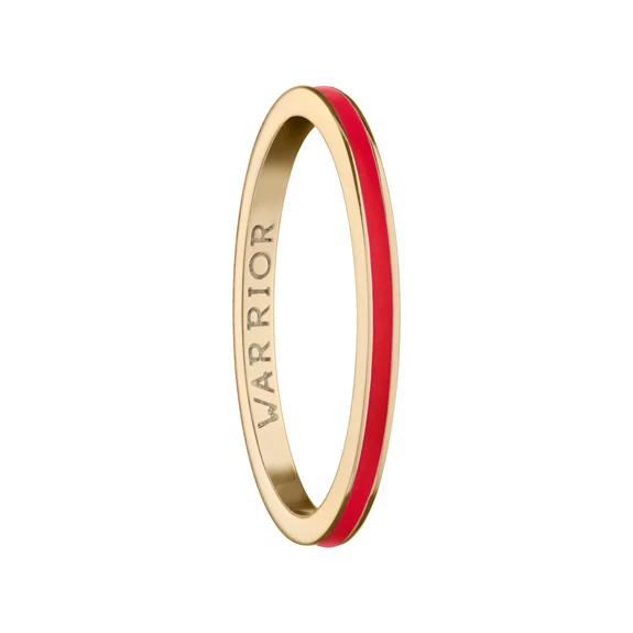 Warrior Poesy 18k Gold Stackable Ring In 2020 Gold Rings Stackable Stackable Rings Gold Ring Stack
