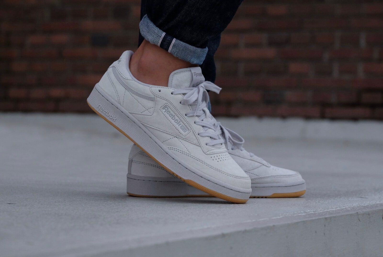 buy popular 8947a 82fb5 REEBOK x Kendrick Lamar Club C 85 TG Steel Carbon-Gum
