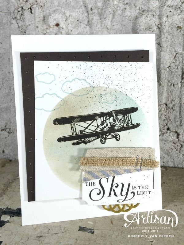 Card Design Flop, The Sky is the Limit, Stampin' Up!