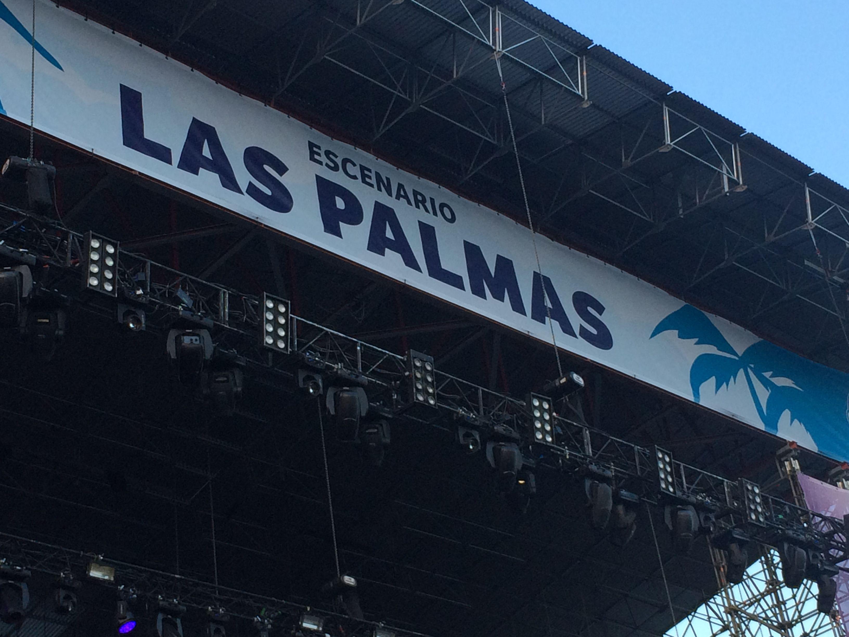 Escenario Las Palmas en el Fib 2015