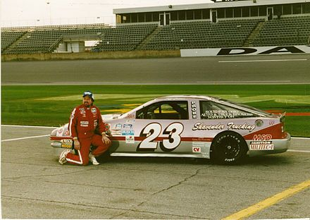 1990 Ford Probe Goody S Dash Series Race Car Driver Jeffrey Collier Vintage Racing Stock Car Racing Racing