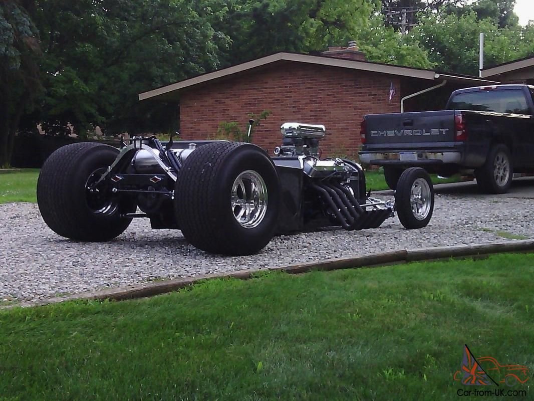 2x3 custom frame. 34 ford front end . disc brakes in front drum in ...