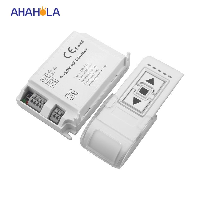 Ac110 220v 3 Key Rf Wireless Remote Control 0 10v Dimming Switch Output Signal 0 10v Dimmer Controller For Lamp Light Accessories Lamp Light Usb Flash Drive