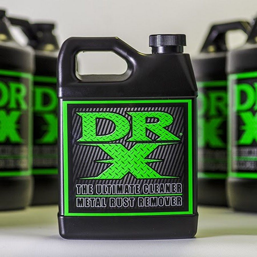 DR X THE ULTIMATE CLEANER YouTube How to remove rust