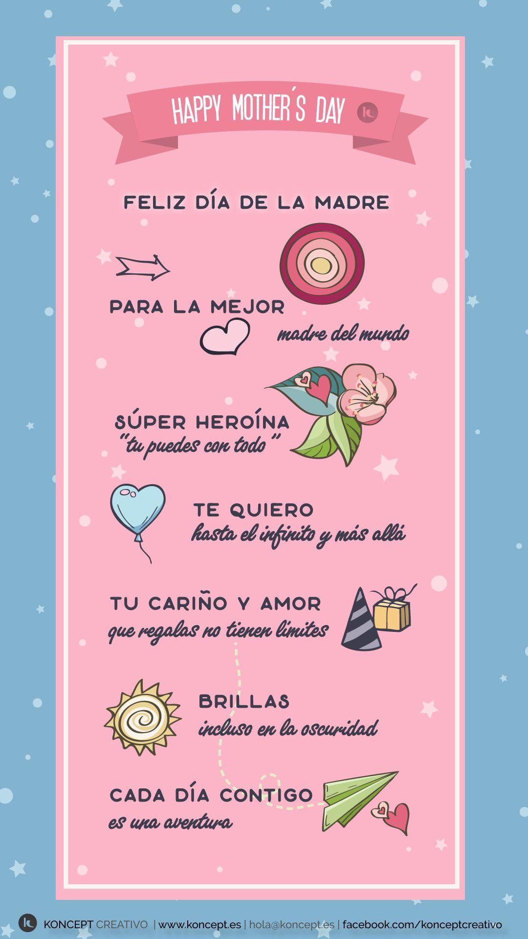Felicitación Día De La Madre Dia Madre Frases
