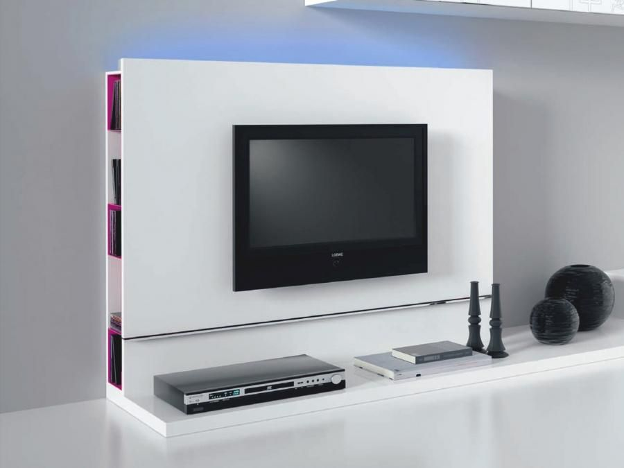 Italian Plasma Tv Stand Inbuilt Dvd Storage White Or Black
