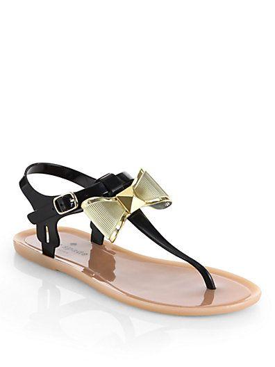 d57db2eadca Kate Spade New York - Fab Jelly Bow Sandals - Saks.com