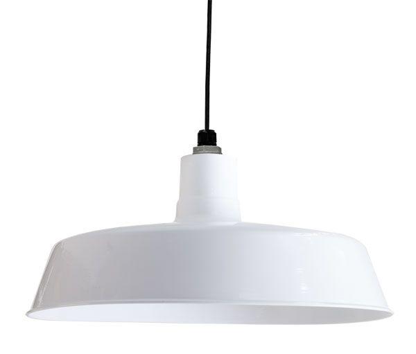 "Original Warehouse Pendant Light: 24"" Original Warehouse Pendant, 200-White"