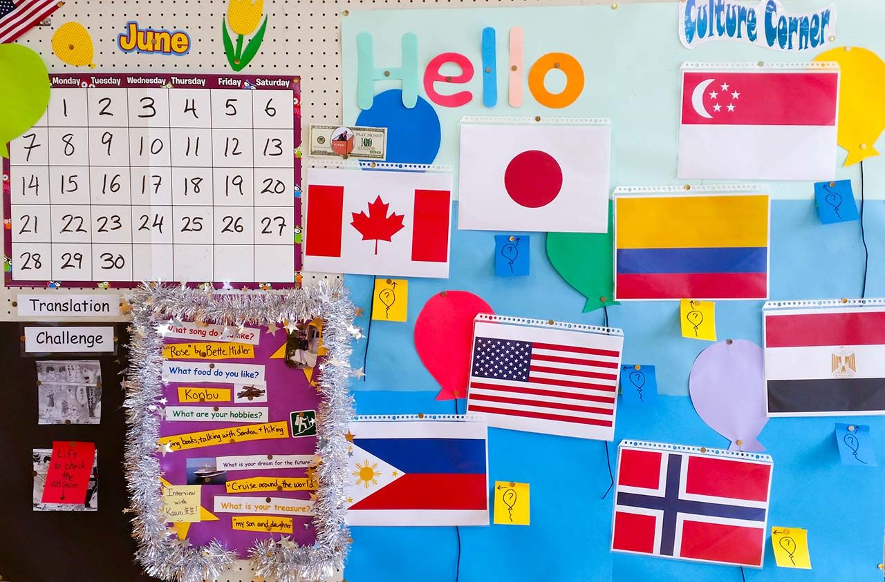 English Bulletin Board Ideas For Jet Program Alts