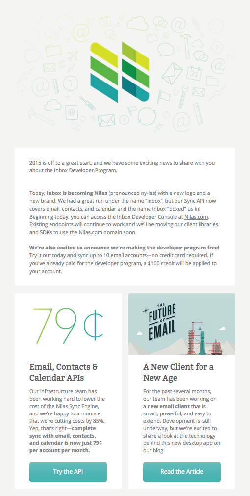 Pin by Campaign Monitor on Email Design Inspiration | Email ...
