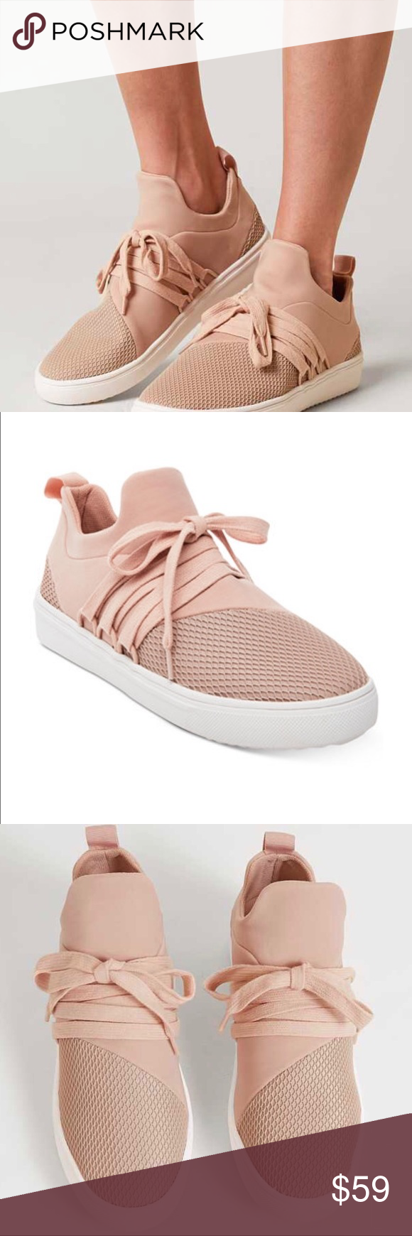 c57161aa9e7 Steve Madden Blush Lancer Athletic Shoes Women s Steve Madden Blush Lancer  Athletic Shoes. Only worn once outside. Size 5 Steve Madden Shoes Sneakers