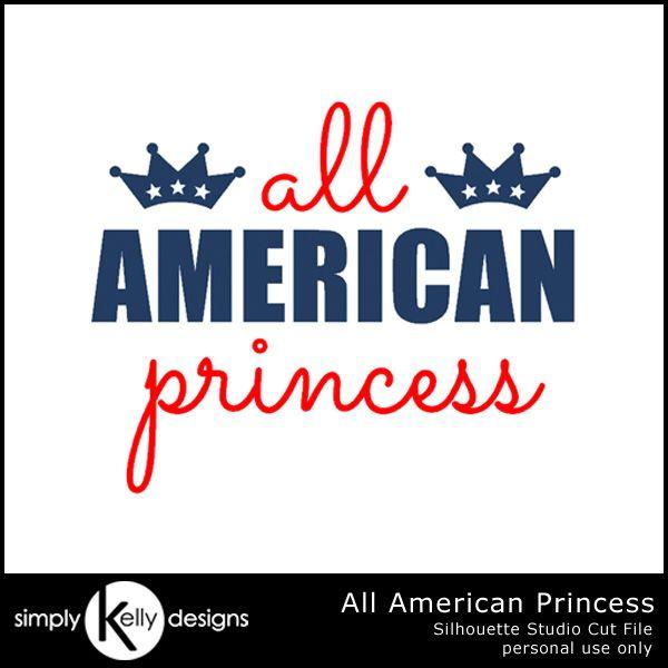Diy Glittery All American Princess Shirt By Simply Kelly Designs 4thofjuly Silhouette Redwhitea American Princess Princess Shirt Glitter Heat Transfer Vinyl