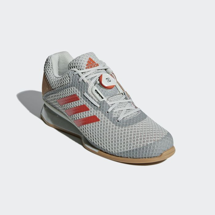 8afd943f2 Leistung 16 II Boa Shoes Silver 10.5 Mens Weight Lifting Shoes