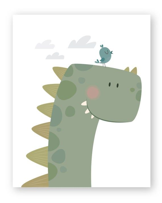 Dinosaur Decor, Nursery wall art, Nursery prints, Set of 3 Dinosaur Prints, Baby boy, Boys Decor, Boys Nursery, Dinosaur Wall Art, Boys art