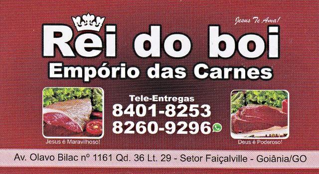 Eu recomendo Rei do Boi- Setor Faiçalville, #Goiânia, #Goiás, #Brasil
