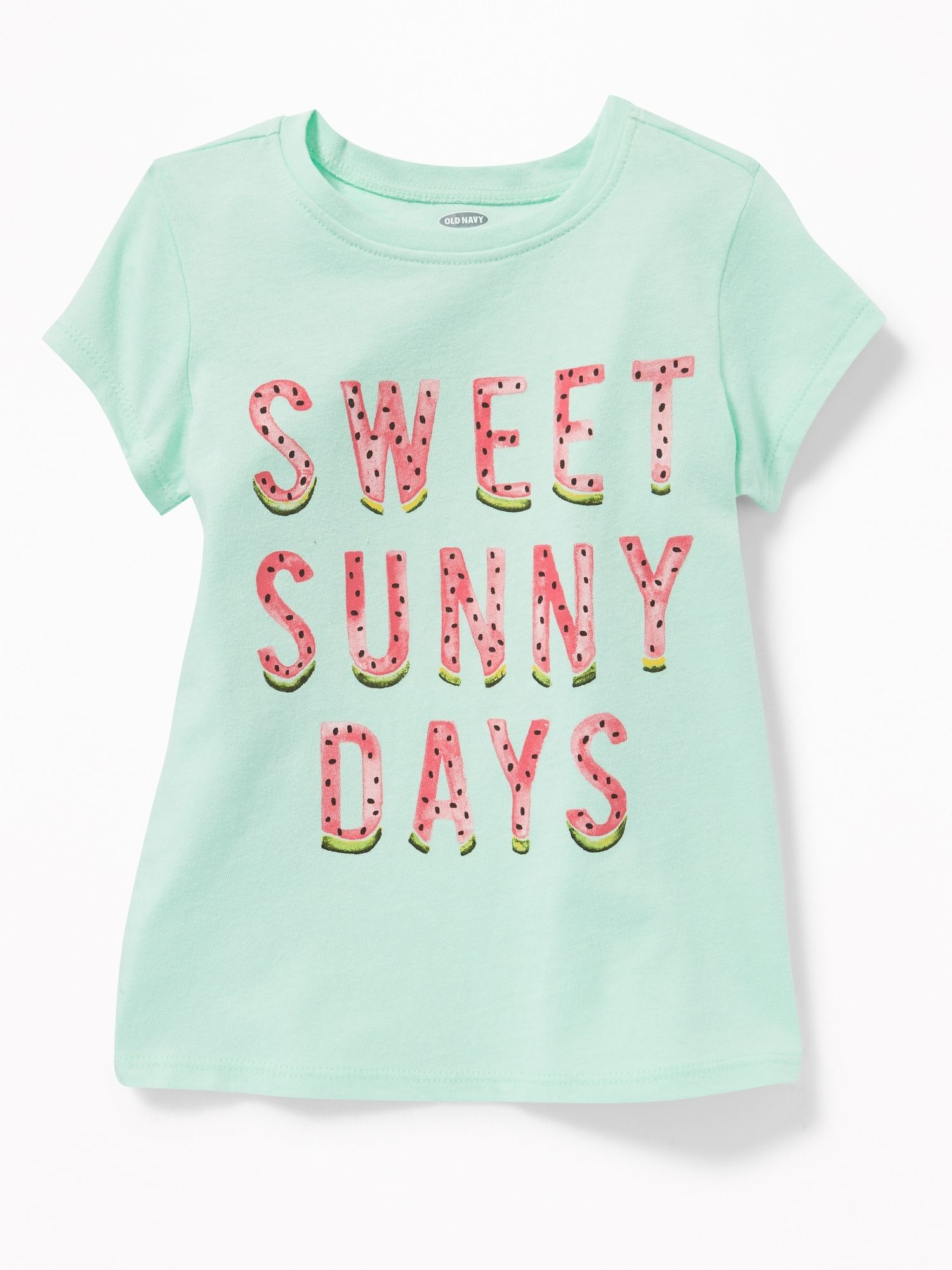 ad9c2551f Graphic Crew-Neck Tee for Toddler Girls | Little Girl Clothes ...