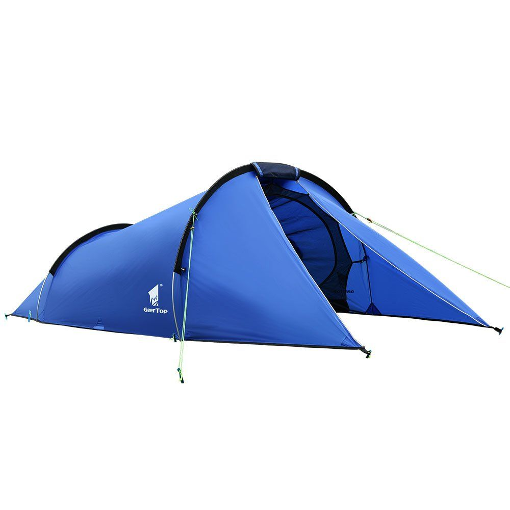 Waterproof 2 Person Man Tent Folding Camping Hiking Outdoor Beach Camo Tent UK